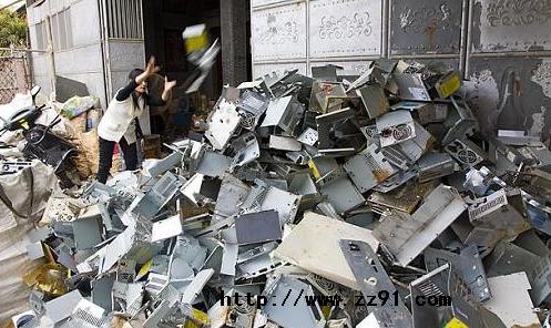 贵屿废金属集散地
