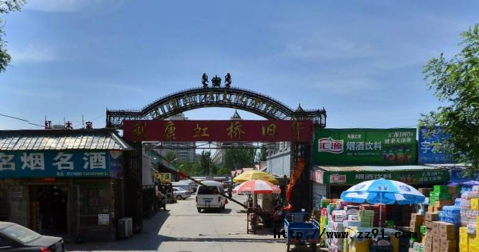 北京昌平区东小口镇废旧市场