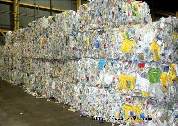 汉川废塑料集散中心