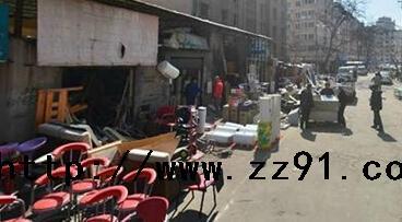 山东青岛市市北区废旧交易市场