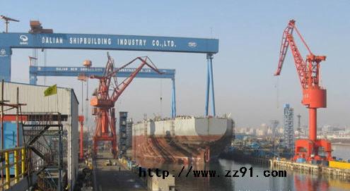 大连船舶重工集团有限公司拆船基地