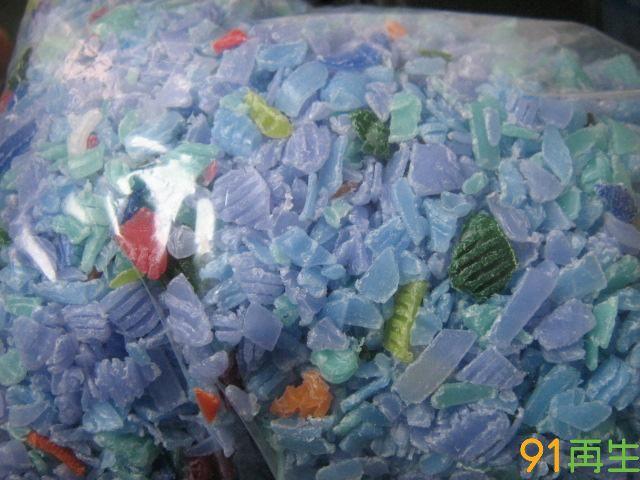 HDPE瓶盖颗粒,瓶盖粉碎料