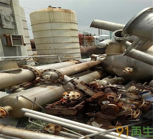 二手钛材蒸发器现金求购  二手钛材蒸发器价格