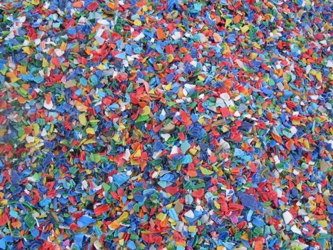 HDPE瓶盖粉碎料